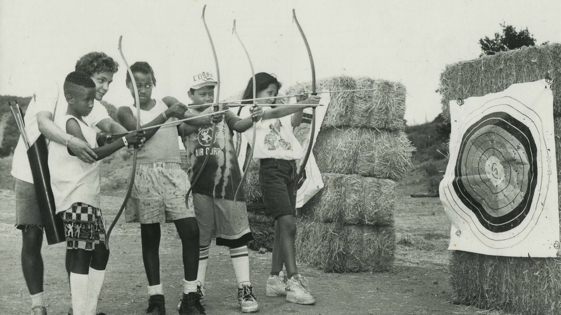 Woodcraft Rangers campers participating in the 1970's